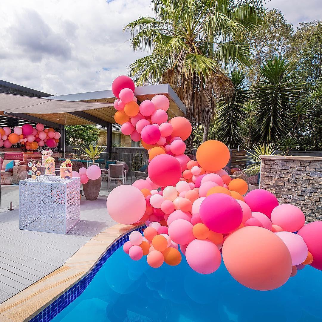 ejemplos de guirnaldas de globos modernas (2)