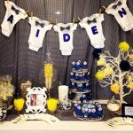 elige el menu para un baby shower