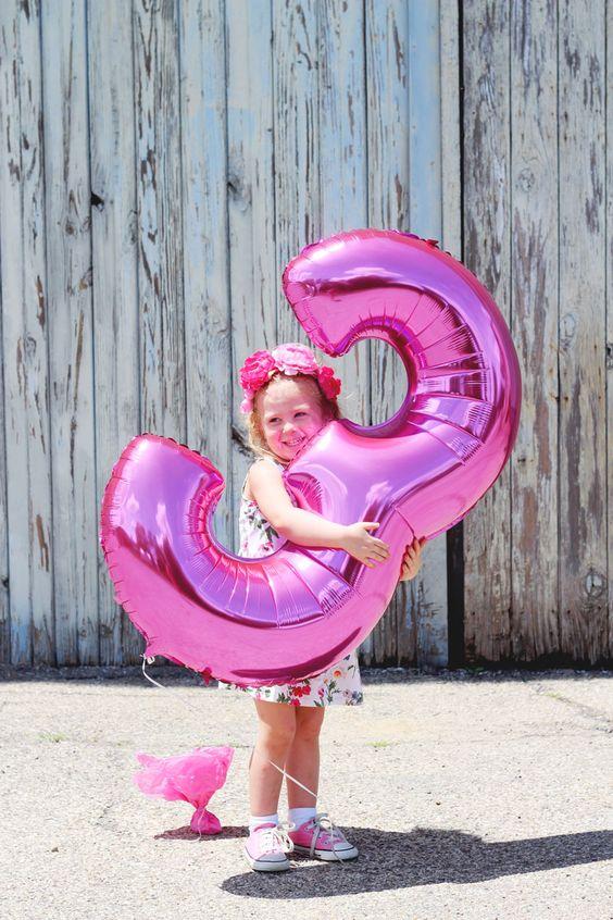 Fiesta de 3 años para niña