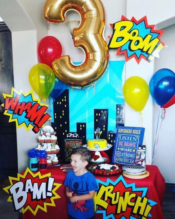 fiesta de cumpleanos 3 anos varon 2