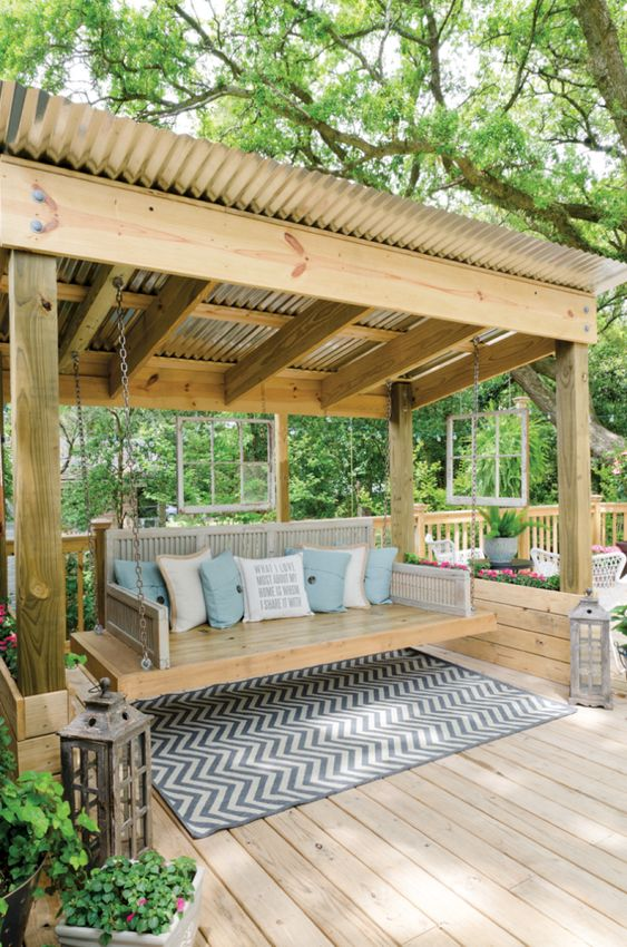 fotos pergola de madera para jardin (1)