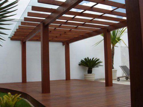 Fotos pergola de madera para jardín