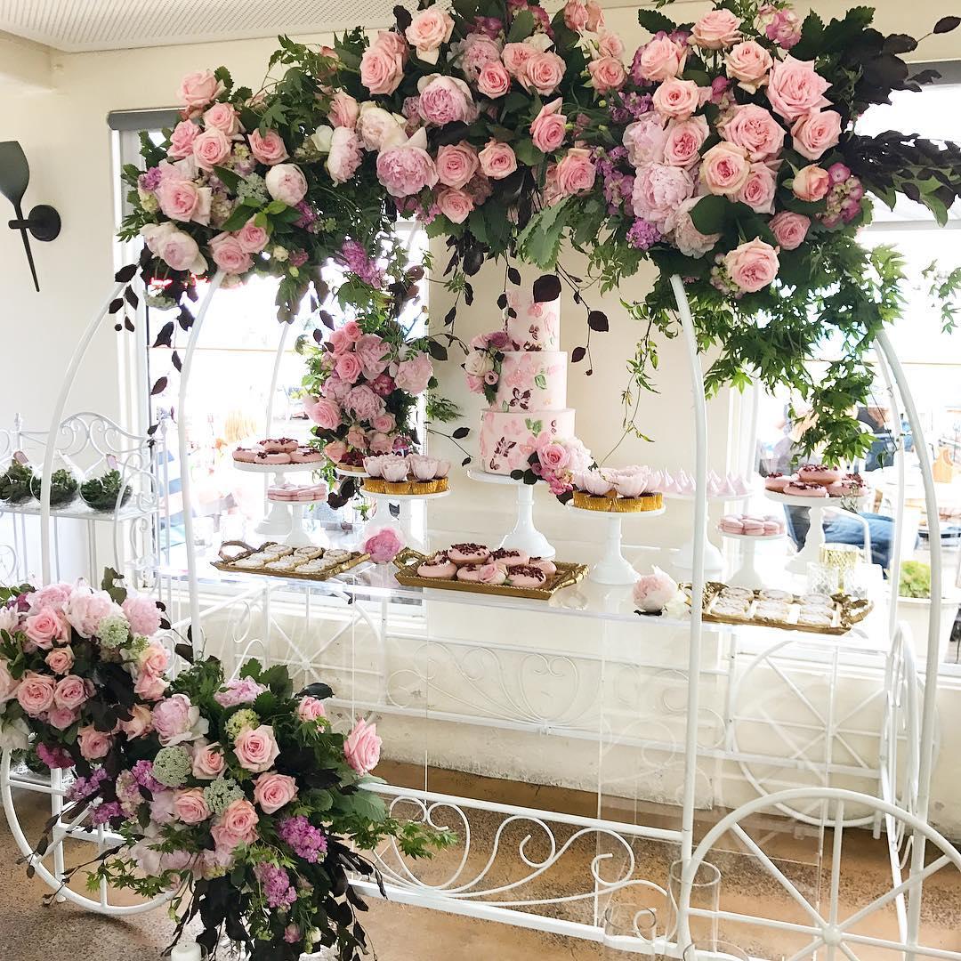 guirnaldas con flores 2019