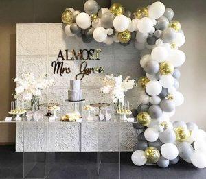 guirnaldas con globos en plata 3