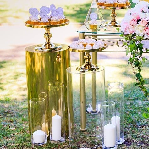ideas para decorar fiestas con mesa de acrilico (7)