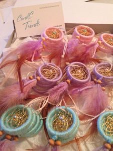 ideas para regalar a las invitadas en baby shower