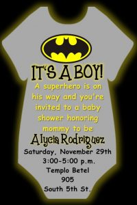 invitaciones por email para baby shower