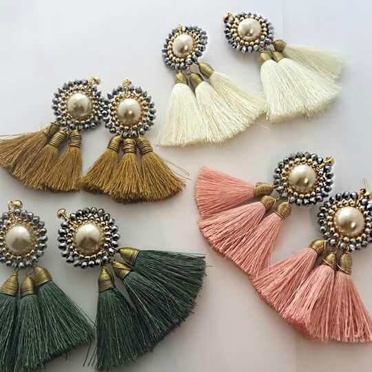 Materiales para el diseño de Aretes de moda