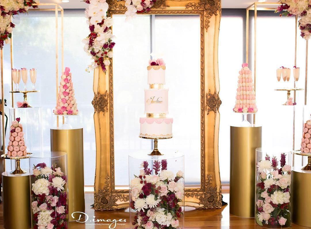 Mesas decoradas con flores naturales