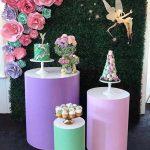 mesa de acrilico para fiestas en forma cilindrica 5