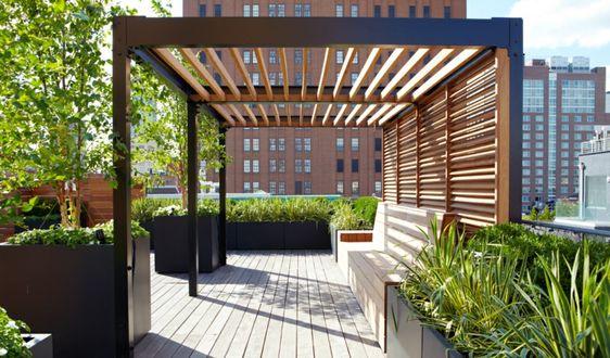 pergolas para jardin de hierro y madera (4)