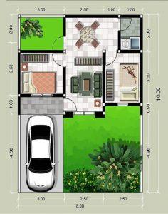 planos de casas 2 dormitorios economicas (4)