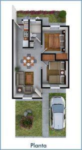 planos de casas pequenas de dos plantas (3)