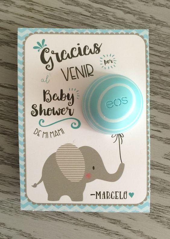 regalos para las invitadas a un baby shower