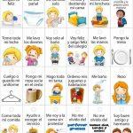 Tabla de responsabilidades para niños