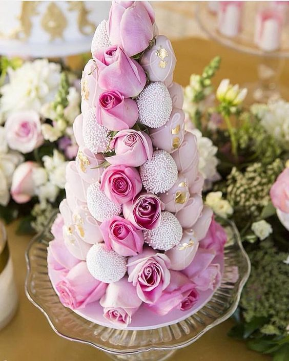 Torre de fresas