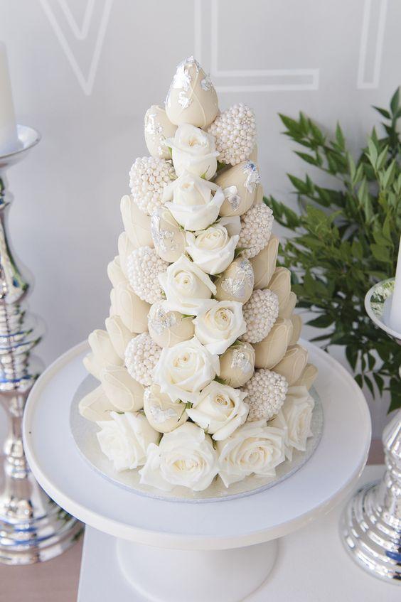 torres de fresas para bodas (3)
