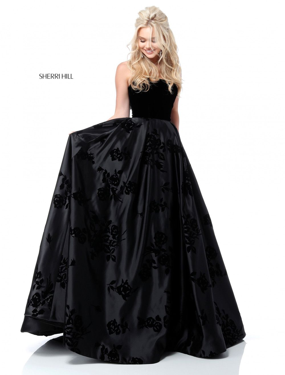 vestido de graduacion corte princesa 2018 4