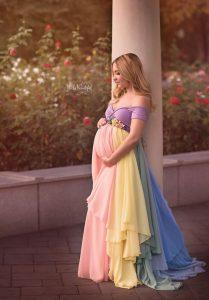 vestido para un baby shower