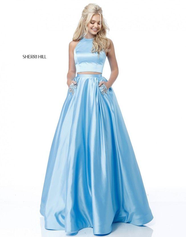 vestidos de graduacion en dos piezas 2018 (2)
