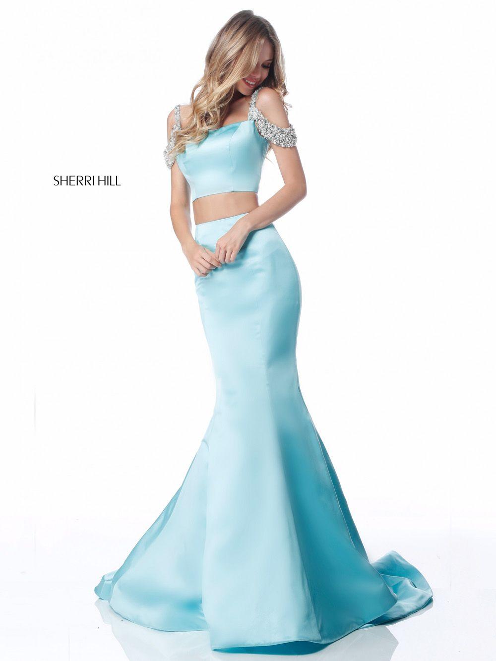 vestidos de graduacion en dos piezas 2018 3