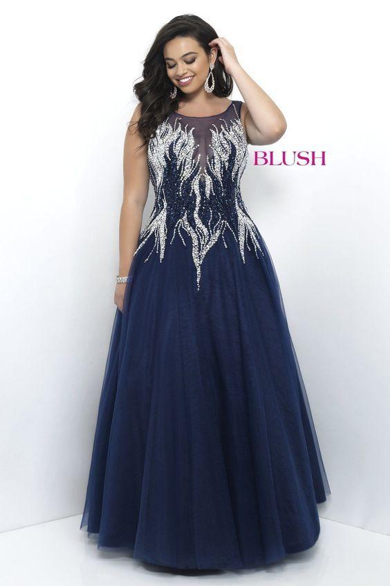 vestidos de graduacion para chicas plus size (35)