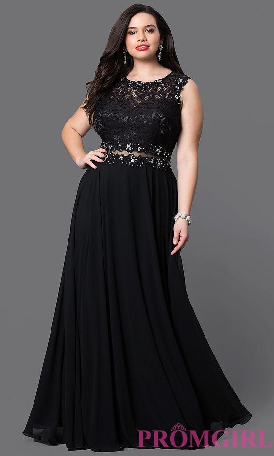 vestidos de graduacion para chicas plus size (36)