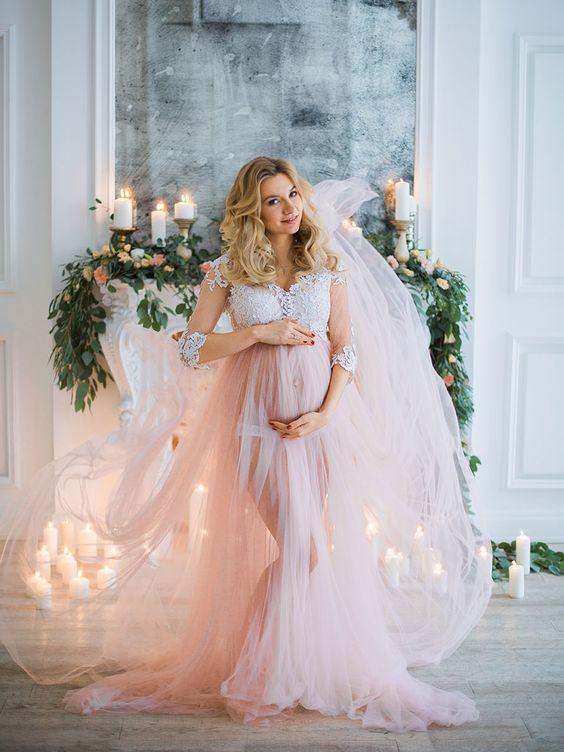 Moldes de vestidos de fiesta para embarazadas