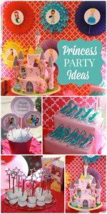 Temas para fiesta de 5 años para niña