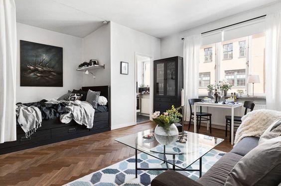 Apartamentos pequeños decorados