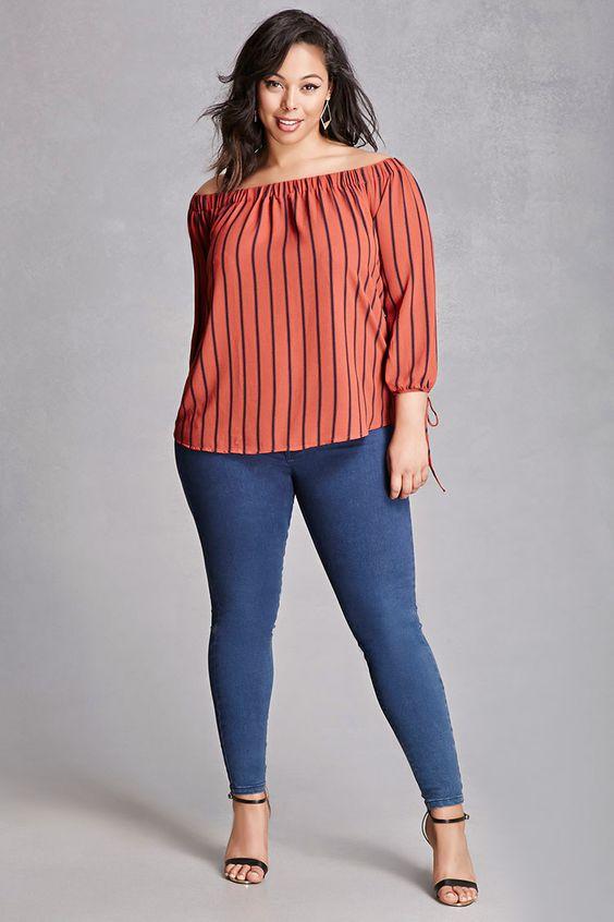 6b0858a2d Blusas de moda para gorditas 2019 - Curso de Organizacion del hogar ...