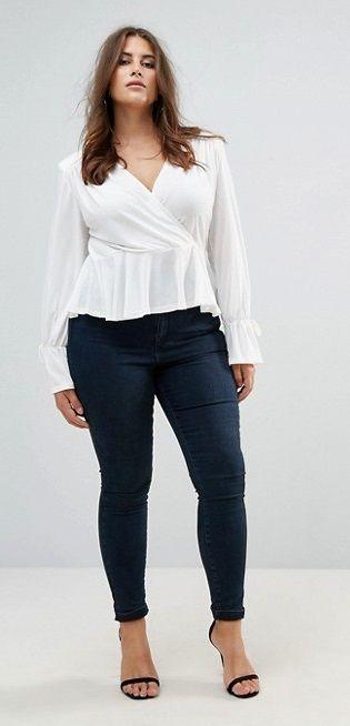 Blusas de moda para gorditas jovenes
