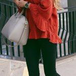 Blusas holgadas de moda