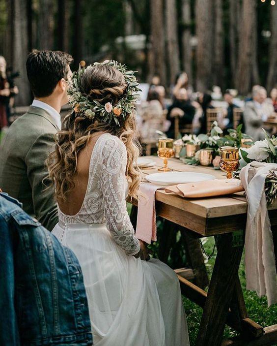 Matrimonio Bohemien Moda : Bodas estilo boho chic tendencias para
