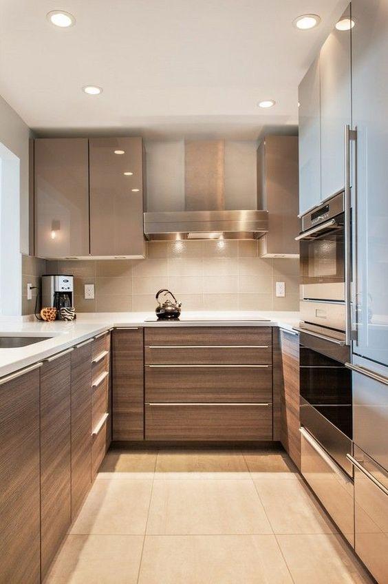 Casas peque as modernas curso de organizacion del hogar for Awkward shaped kitchen designs