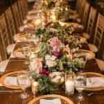 Centros de mesa para una boda boho chic