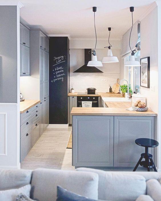 Cocinas para casas peque as curso de organizacion del for Cocinas de casas pequenas