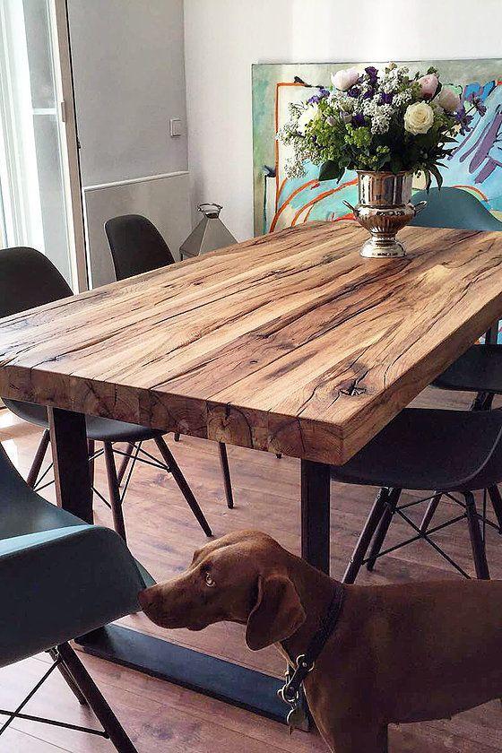 Comedores modernos de madera