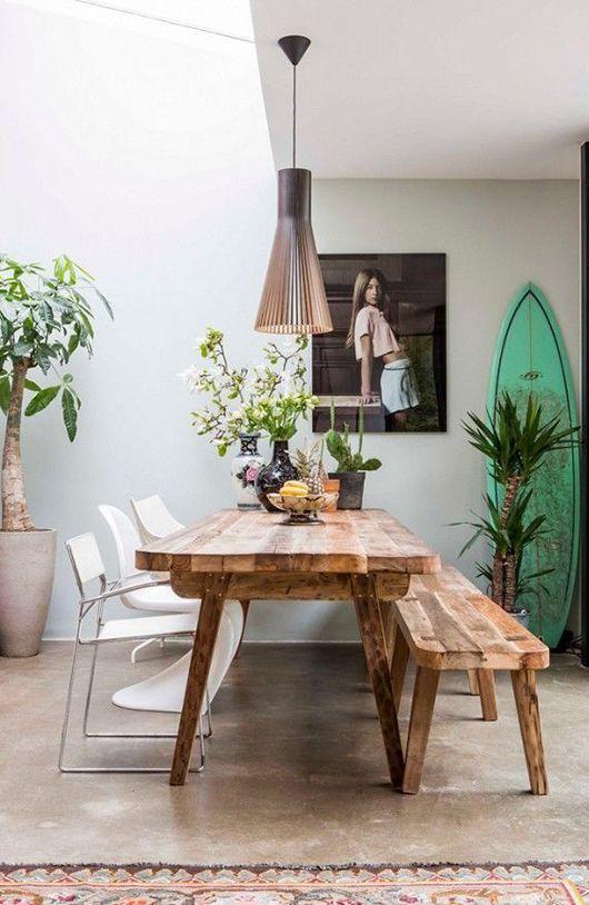 Comedores modernos de madera - Curso de Organizacion del hogar y ...