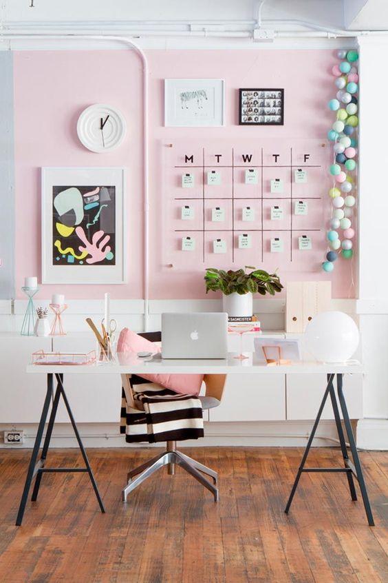 Como decorar una oficina pequeña de trabajo