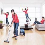como limpiar la sala de estar en 15 minutos