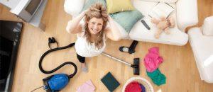 como limpiar la sala de estar en 15 minutos 5