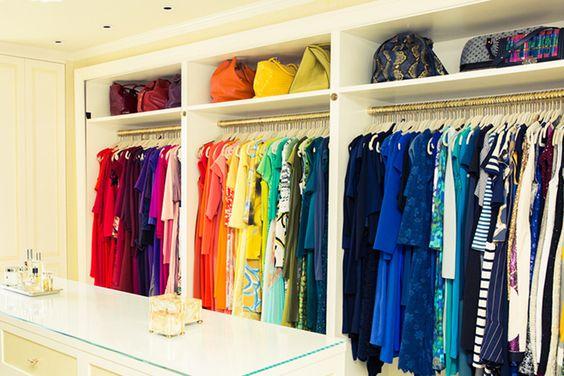 como limpiar y organizar un closet 2