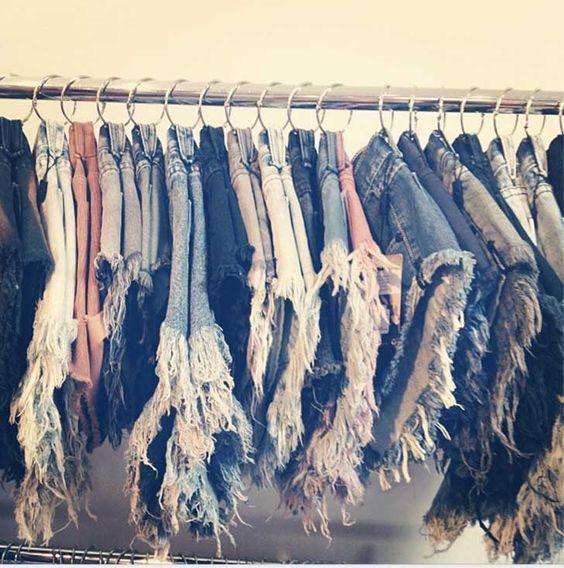 como organizar los shorts