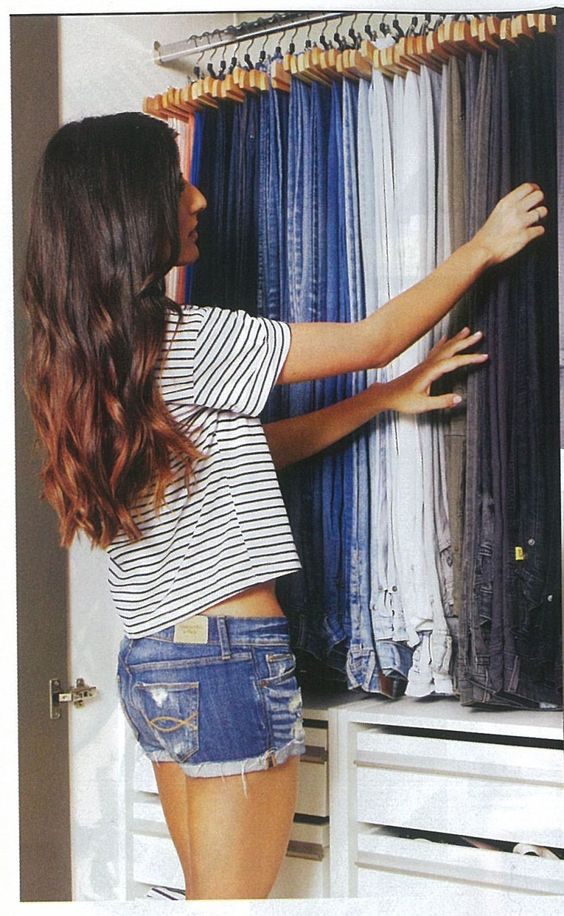 como organizar pantalones de mezclilla (1)