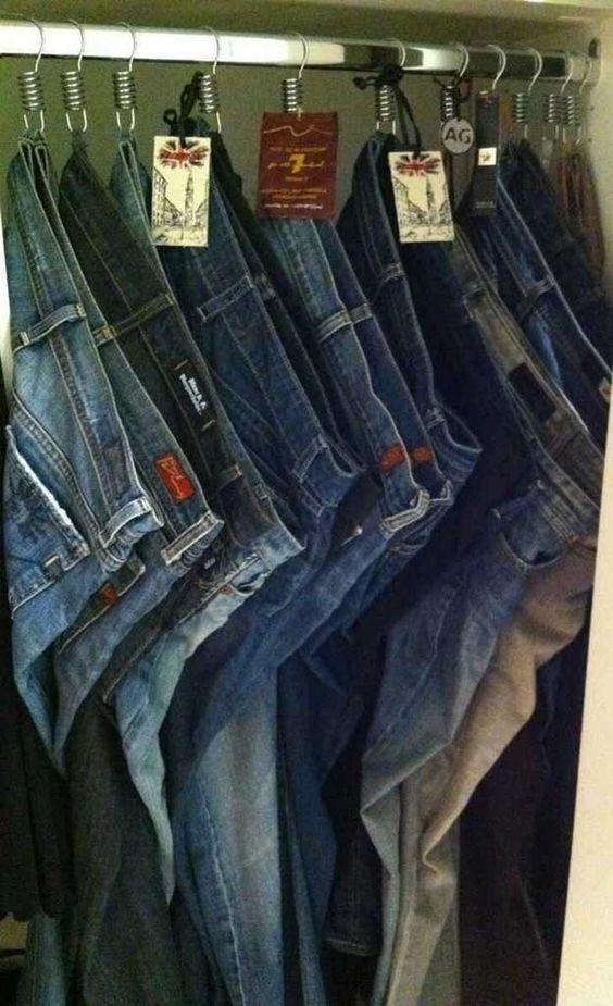 como organizar pantalones de mezclilla (2)