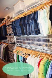 como organizar zapatos en el armario