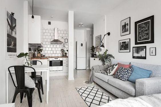 Decoracion de departamentos pequeños minimalistas