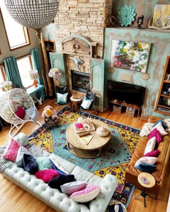 Decoracion de interiores estilo eclectico