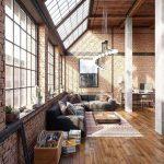 Decoracion de interiores estilo industrial